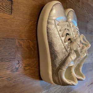 🤍Gunmetal: Elevated Metallic Sneakers